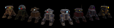 SWTOR_Style_Droids_Astromech_Collection_